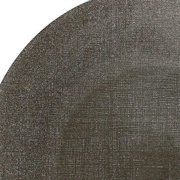 グリッター プレート 14cm ダークグレイ