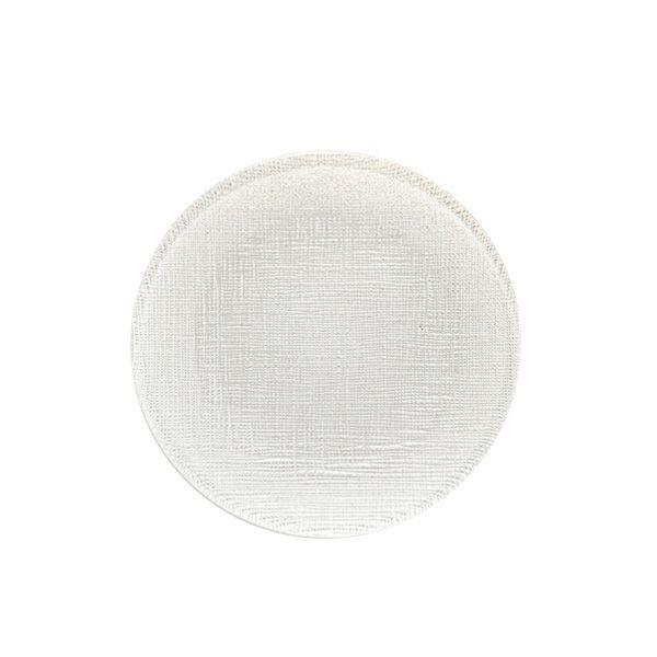 グリッター プレート 14cm ホワイト