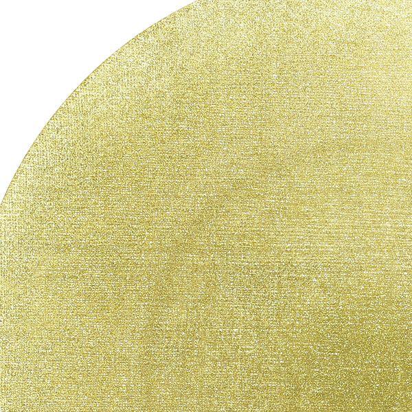 グリッター プレート 28cm ニューゴールド