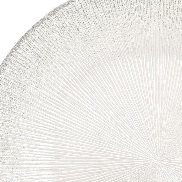 コスモ プレート 28cm ホワイトパール