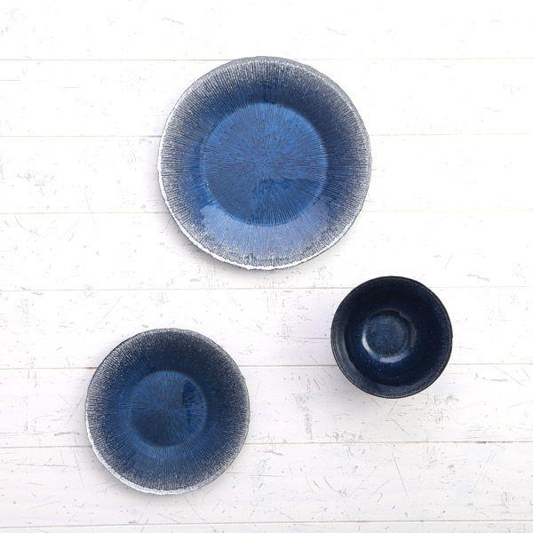 コスモ プレート 28cm リモージュ ブルー
