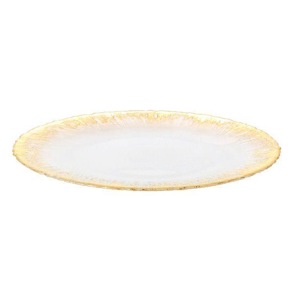 フラッシュ プレート 33cm ゴールド