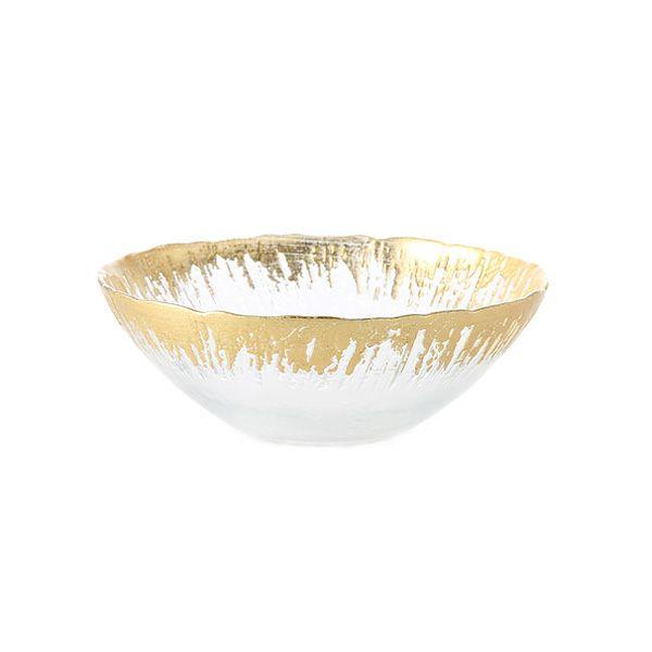 フラッシュ ボウル 17cm ゴールド