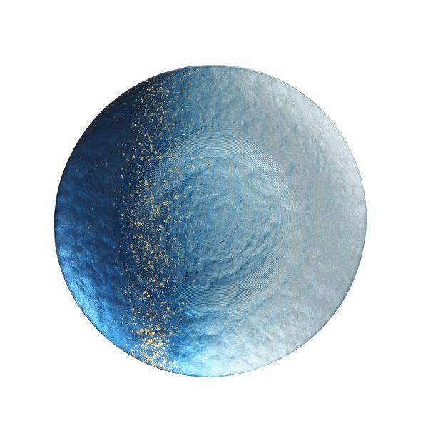 ホライズン プレート 22cm ブルー