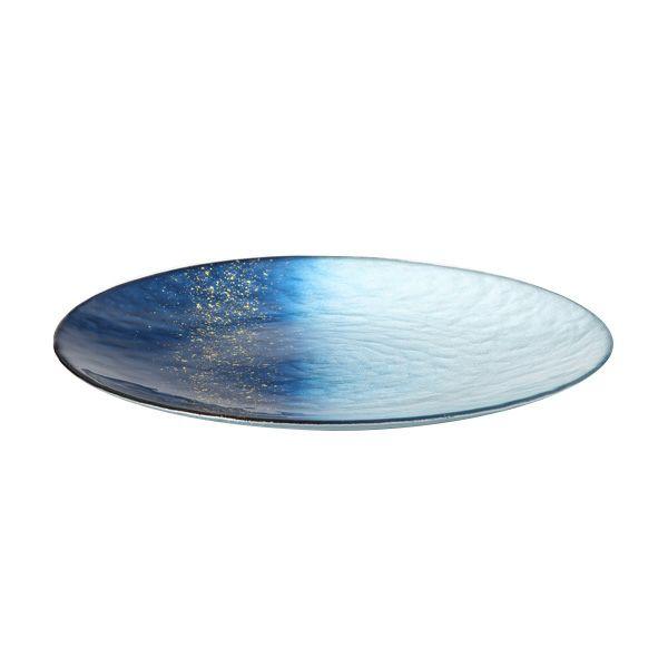 ホライズン プレート 28cm ブルー
